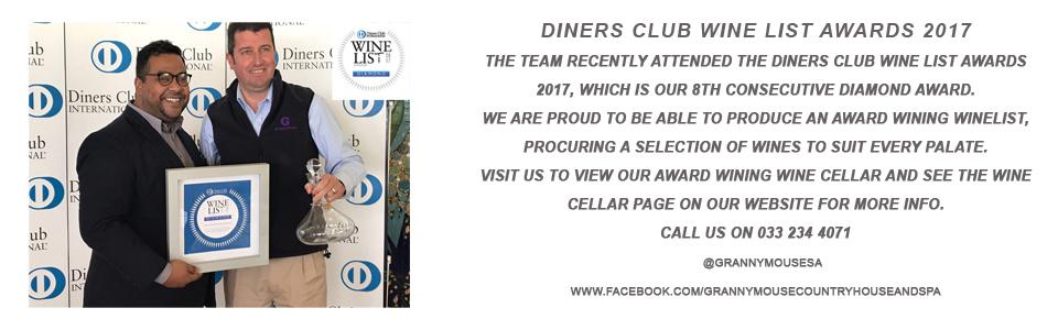 GM Diners award